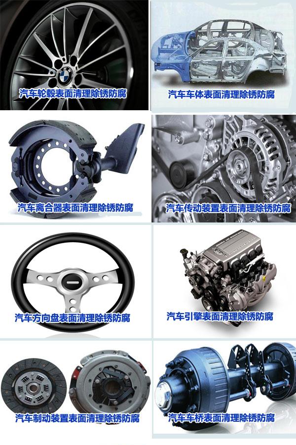 抛丸机在汽车行业中的应用