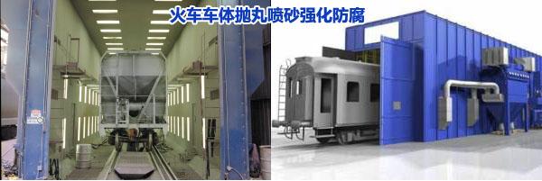抛丸机在铁路方面的应用