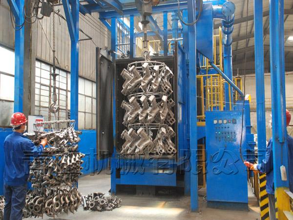 抛丸机在锻件与铸件上的应用
