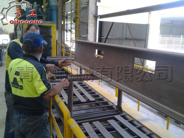 在钢铁钢结构上的应用