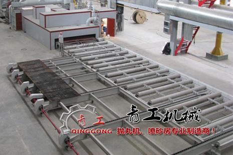 钢板预处理线