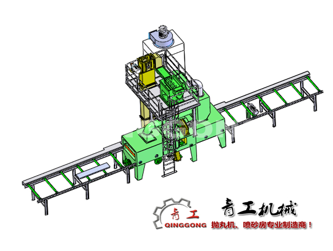 铝模板抛丸机|铝模板喷砂机